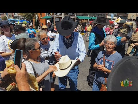 Robert Fuller on the streets of Laramie! Laramie Jubilee Days 2017