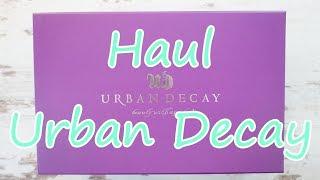 Haul Urban Decay // Compras Urban Decay