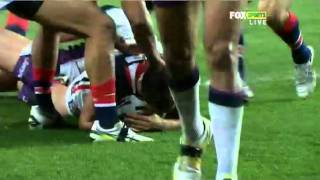NRL 2011 Round 26 Highlights: Roosters V Storm