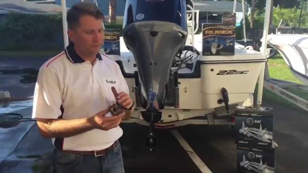 Installation of the Solas Pro Series Prop - iboats com