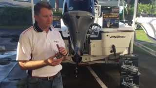 Installation of the Solas Pro Series Prop - iboats.com