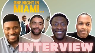 One Night In Miami Cast on Exposing Younger Generations to Black Icons