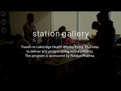 Station Gallery visits Lakeridge Health Whitby - Instructors Perspective