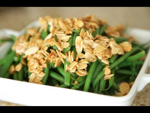 Buttery Green Beans with Toasted Almonds | Byron Talbott
