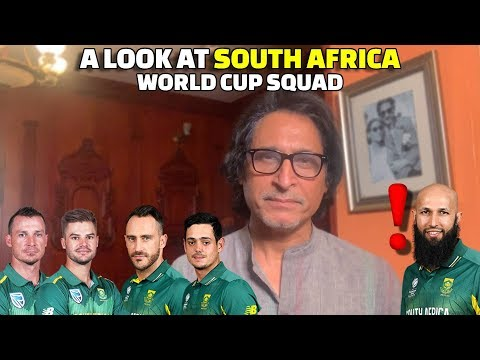 A Look At South Africa World Cup Squad | Amla a surprise selection