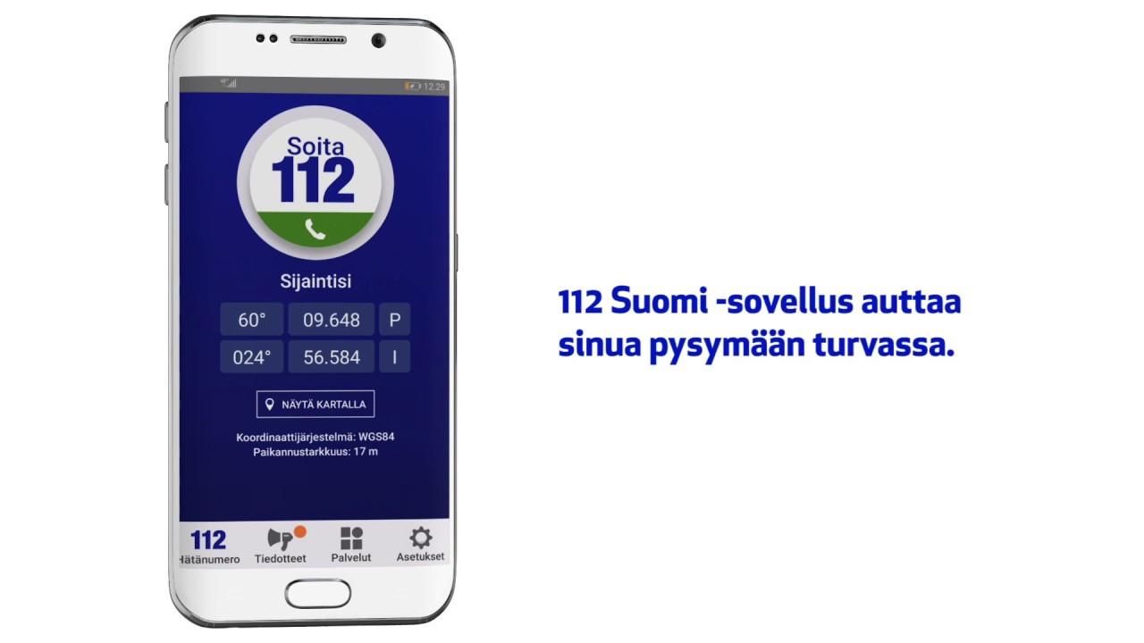112 Suomi Sovellus