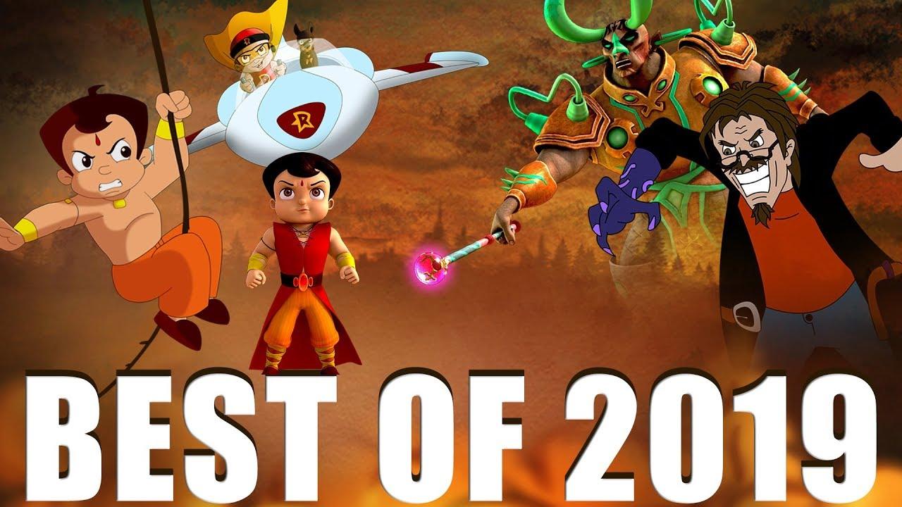 Green Gold Kids - Top 10 Videos of 2019 | Best of 2019 | Chhota Bheem | Hindi Cartoon for Kids