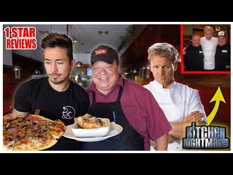 Eating At Gordon Ramsay's Kitchen Nightmares Restaurant (1 STAR)