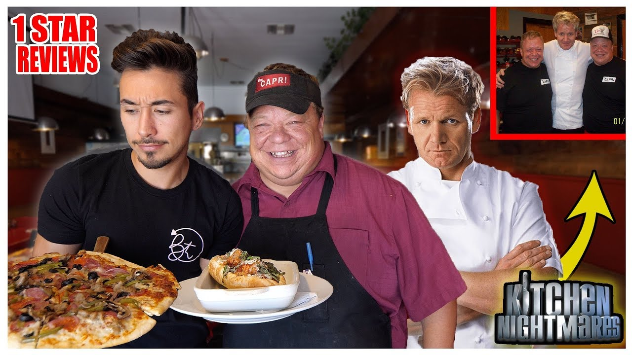 Download Eating At Gordon Ramsay's Kitchen Nightmares Restaurant (1 STAR)