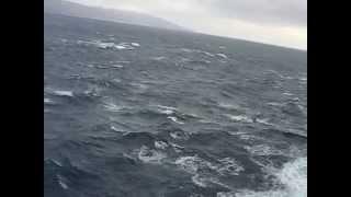 Aegean Sea - Rough Water West of Crete