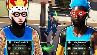 FRENCH CLONES TAKEOVER PARK WITH STYLE 😎 NBA 2K19