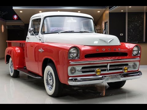 1957 Dodge D100 Pickup For Sale - YouTube