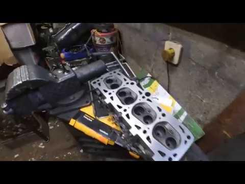 Шевроле Люмина -1,8 VW \ кпп VW-T4 \ ч.3 Ремонт головки блока