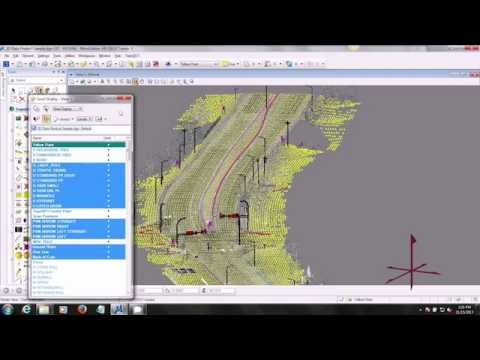 3D Survey Grade Design Data from Mobile Lidar