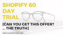 Shopify 60 Day Trial [The BEST Free Trial Offer You Can Get]