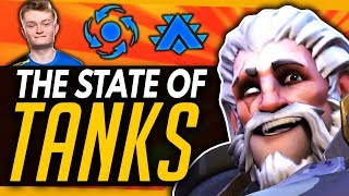 Overwatch | The State Of Tanks & Concerns of OW2 (ft Fusions)