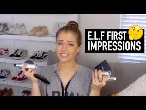 E.L.F FULL FACE OF FIRST IMPRESSIONS! | Mel Joy