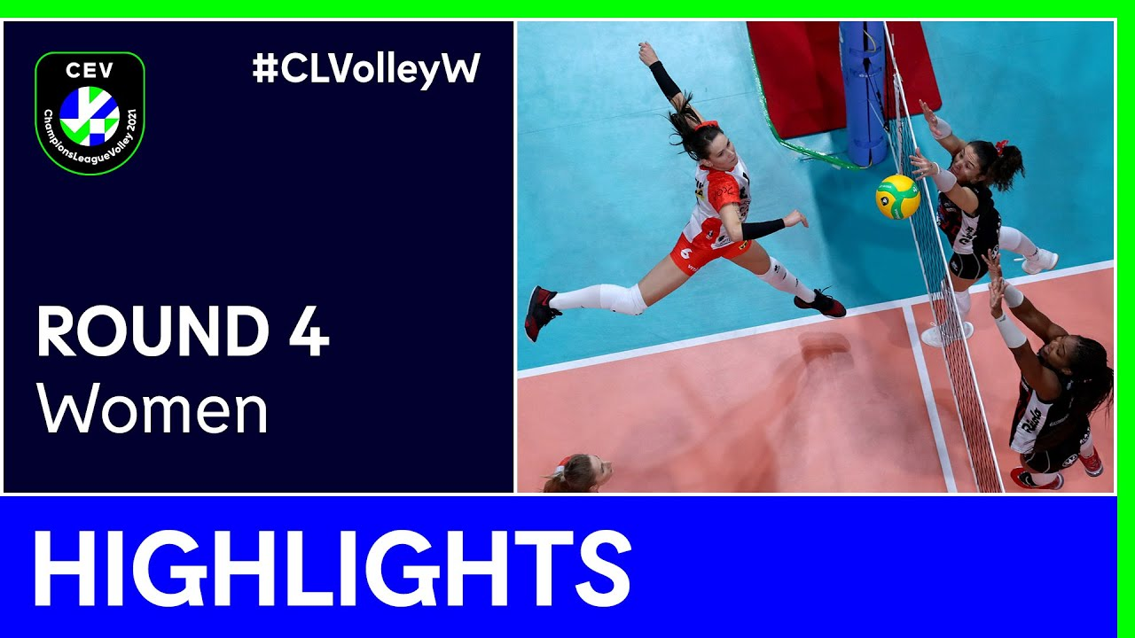ASPTT MULHOUSE VB vs. ŁKS Commercecon ŁÓDŹ Highlights - #CLVolleyW
