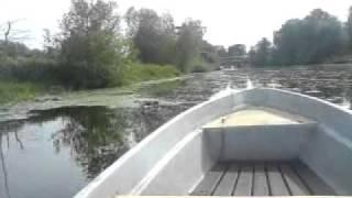 Bootfahren auf der Warnow in Schwaan