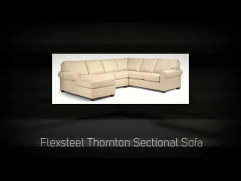Flexsteel Thornton Sectional Sofa YouTube