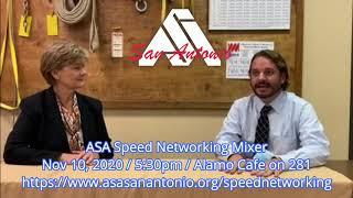 ASA Speed Networking 2020