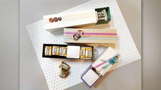 초콜렛 상자 만들기