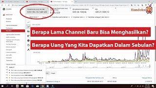 Penghasilan Selama 1 Bulan Di YouTube - Kerjanya Santai Hasilnya Segini