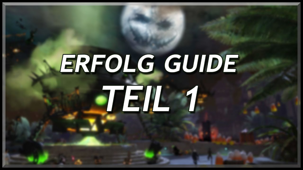 Guild Wars 2 | Halloween 2017 | Erfolg Guide - YouTube