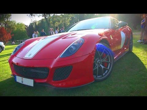 HARD REVS and V12 SOUND!! Ferrari 599 GTO