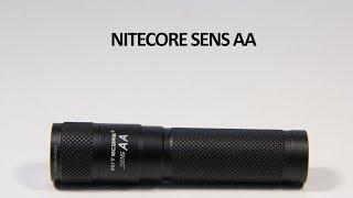 Ліхтар Nitecore SENS AA - відео інструкція. Повний огляд