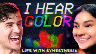 I spent a day with SYNESTHETES (Neurological condition aka SYNESTHESIA)
