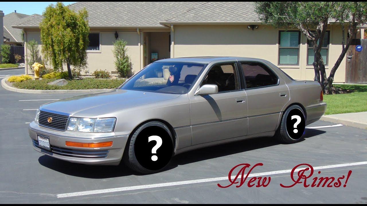 17 Wheels Lexus Ls400 1996 Lowered