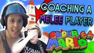 Teaching a Melee commentator how to SPEEDRUN SM64