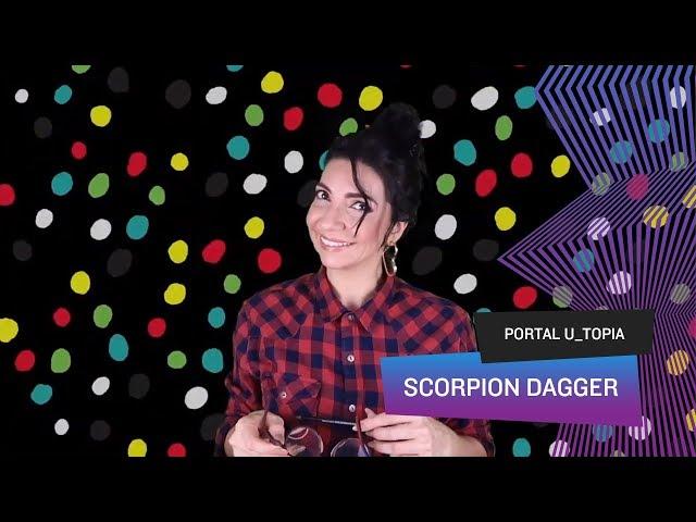 Portal U_topia - Scorpion Dagger, sexo, iconografia religiosa e a arte do gif
