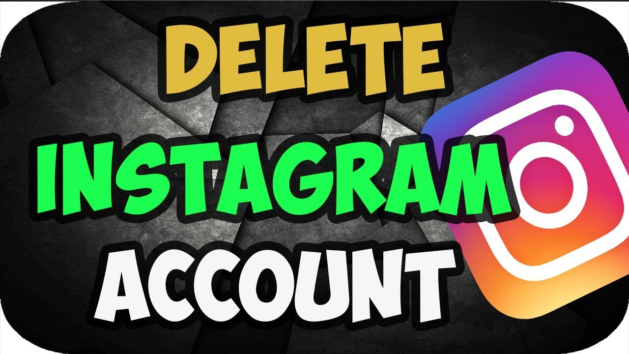 How to delete instagram account on computer 2018 youtube how to delete instagram account on computer 2018 ccuart Image collections