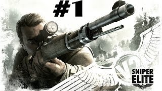 Sniper Elite v2 Mission 1 Walktrought Gameplay XBOX 360 PS 3 PC