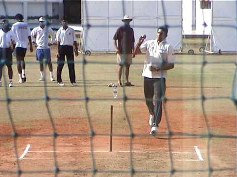 Venkatesh Prasad Bowling in the Nets | MRF Pace Foundation