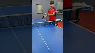 How To Pendulum Serve With Sean Zhang