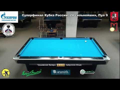 Superfinal Russia Open 9-ball 2020 TV4