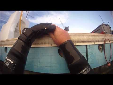 Before and After Pontoon Boat Underwater Cleaning | Doovi