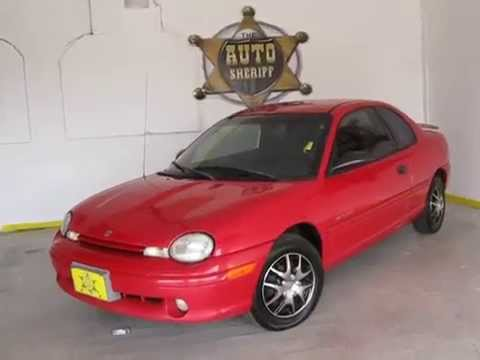 1999 Dodge Neon Highline 2dr Coupe