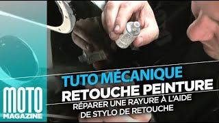 comment réparer égratignure auto
