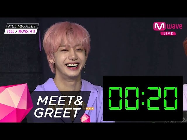 [MEET&GREET] Camera director's pick! Title song introduction with a 'small' round of applause!