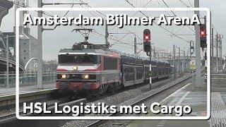 Raillogix komt door station Amsterdam Bijlmer ArenA met Gefco Autotrein!