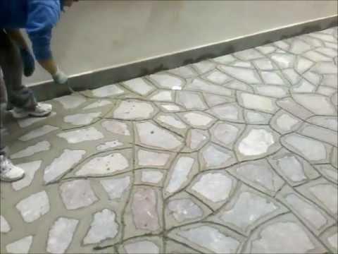 Stuccatura Porfido Roma Edil Petrozzi Youtube
