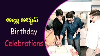 Allu arjun birthday celebrations 2017 || today popular videos