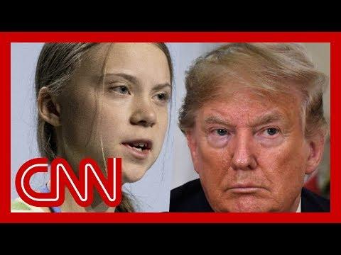 Trump attacks Greta