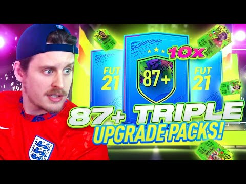 ARE THESE WORTH IT?! 10X 87+ TRIPLE UPGRADE PACKS! FIFA 21 Ultimate Team