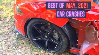 Craziest Car Crash Compilation: Best of May, 2021 \x5bUSA \\u0026 Canada Only\x5d