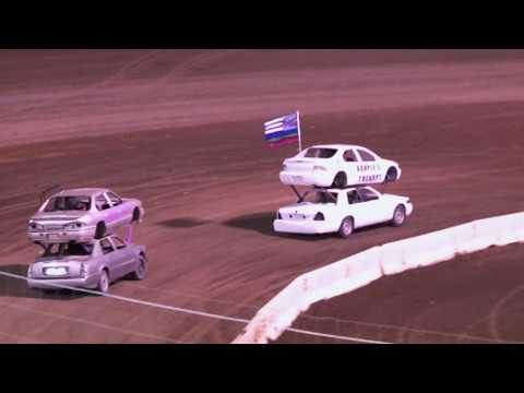 Perris Auto Speedway 3-7-20 N O D #1 Double Decker Main Event